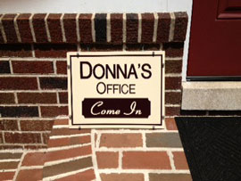 Donna's office